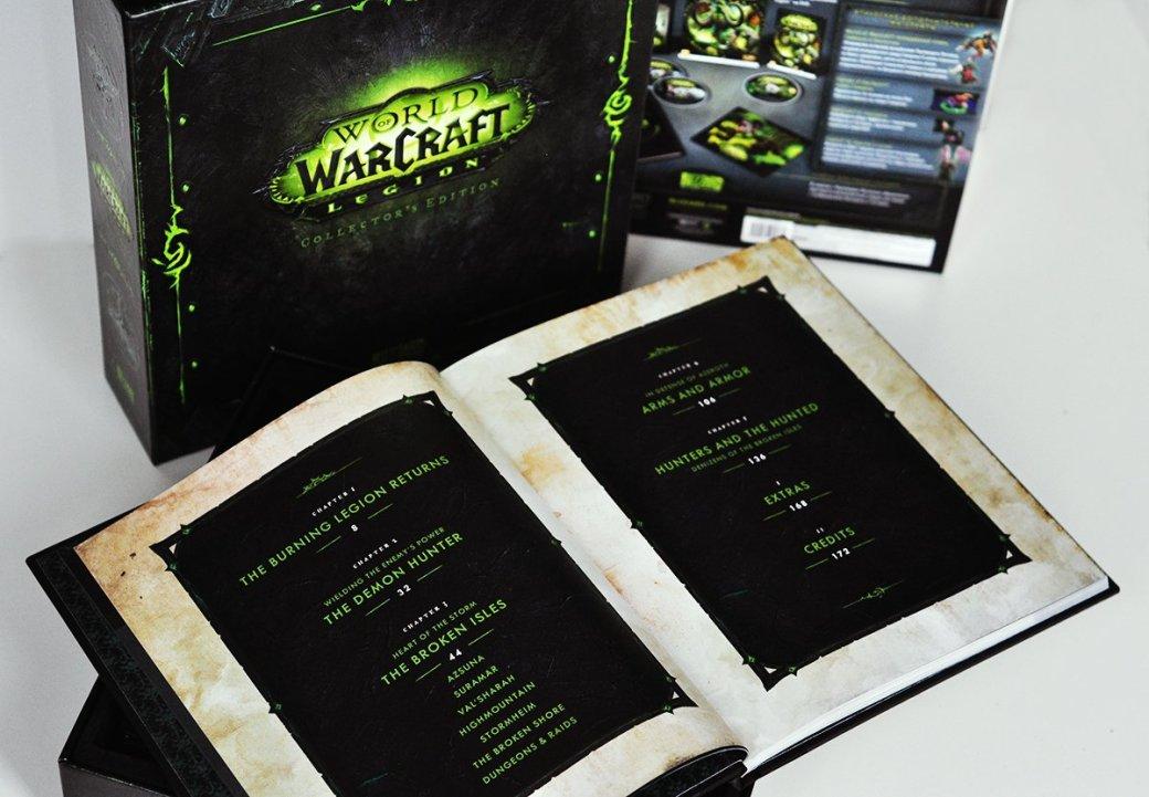 Распаковка коллекционного издания World ofWarcraft: Legion. С котом! | Канобу - Изображение 541