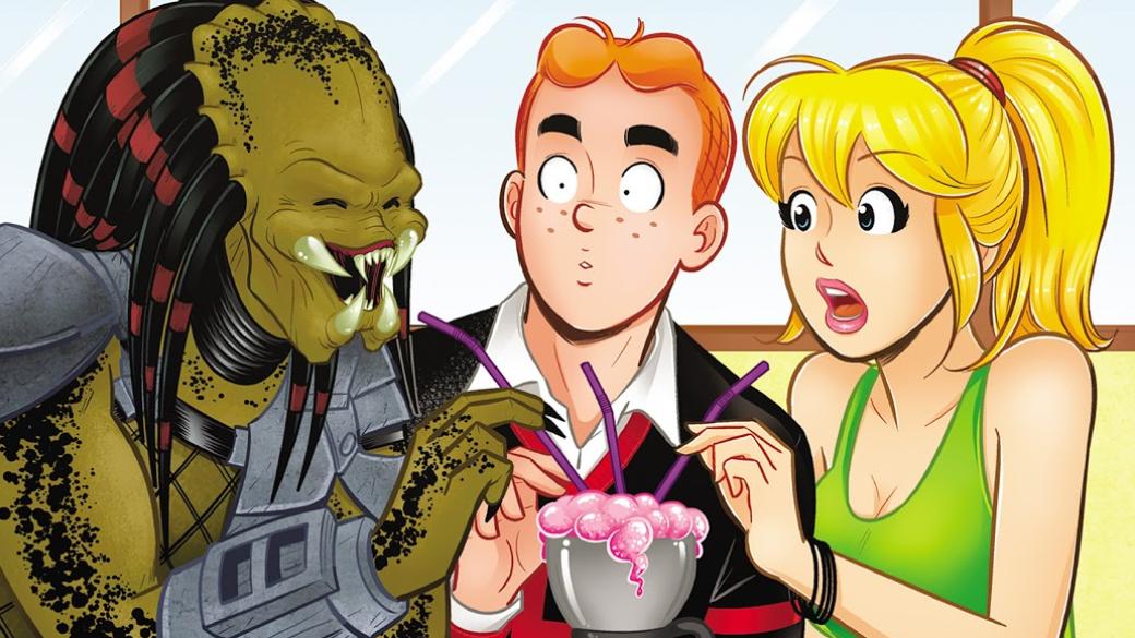Подростки Ривердейла против инопланетного охотника— обзор комикса «Арчи против Хищника»   Канобу