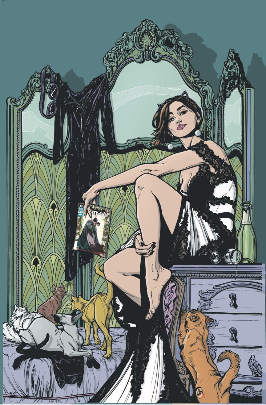 После свадьбы сБэтменом Женщина-кошка получит свой сольный комикс. - Изображение 1