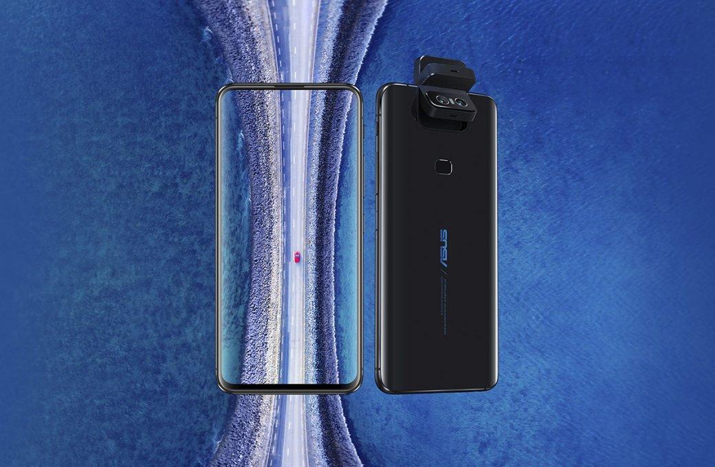 Asus ZenFone 6представлен официально: необычный флагманский камерофон поцене китайских новинок | Канобу - Изображение 0