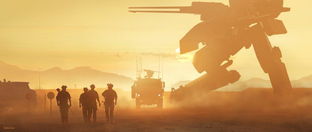 Замечательные фанарты к31-летию Metal Gear отрежиссера ееэкранизации | Канобу - Изображение 15