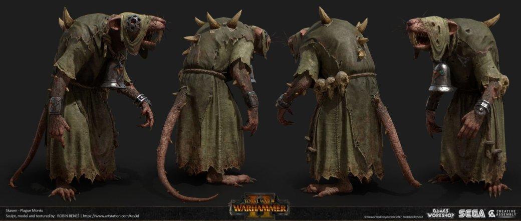 Взгляните напотрясающие концепт-арты Total War: Warhammer II. - Изображение 32