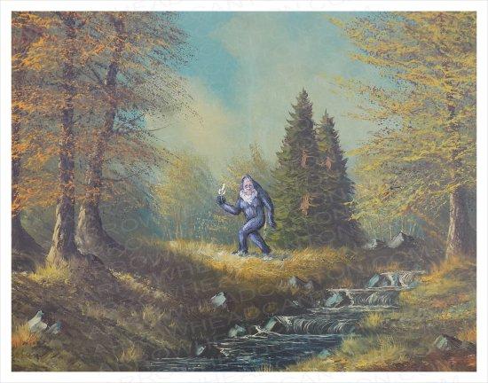 Художник добавляет элементы фантастических фильмов назаурядные пейзажи   Канобу - Изображение 4126