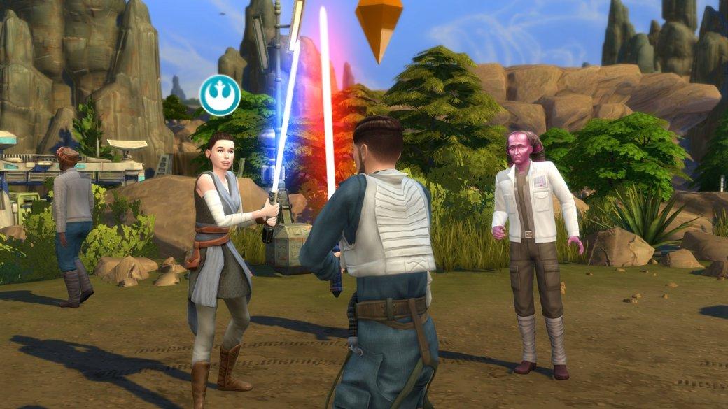 Изсима вгероя «Звездных войн». Как преобразиться в«The Sims 4: Путешествие наБатуу»? | Канобу - Изображение 454
