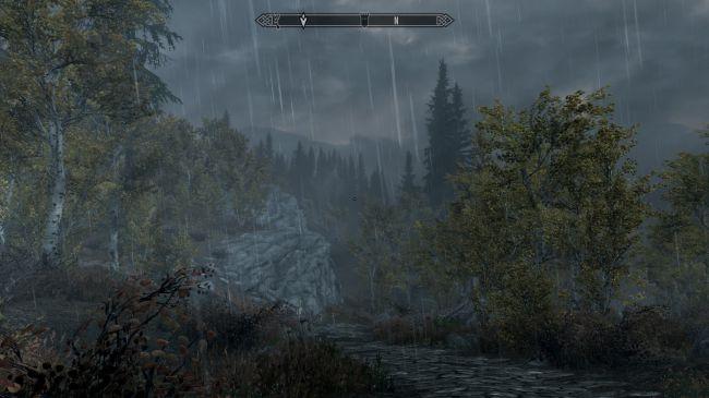 Ничего не видно! Энтузиаст сделал в Skyrim невероятно реалистичный ливень   Канобу - Изображение 246
