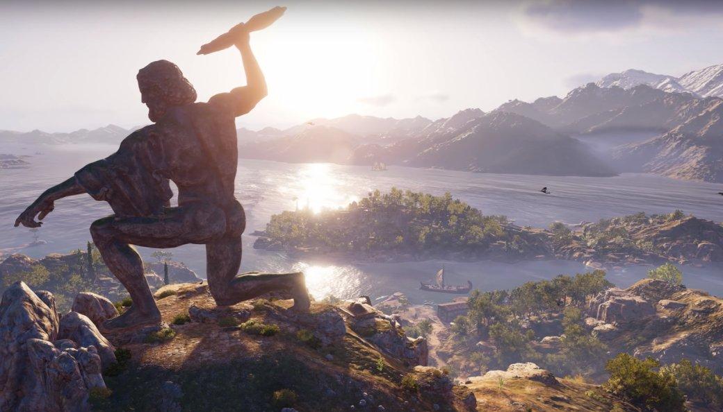 Мифы Древней Греции в Assassin's Creed: Odyssey — Медуза Горгона, Минотавр, а также Зевс и Посейдон | Канобу - Изображение 1