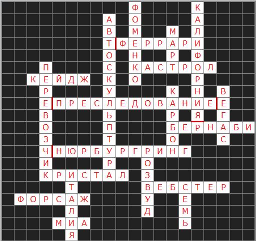 Crossword Game: Проверь себя в Need for Speed | Канобу - Изображение 1