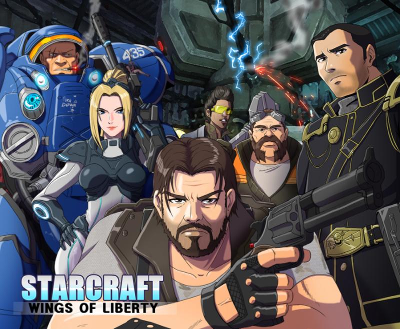 Аниме по StaCraft 2 выглядело бы именно так. - Изображение 1