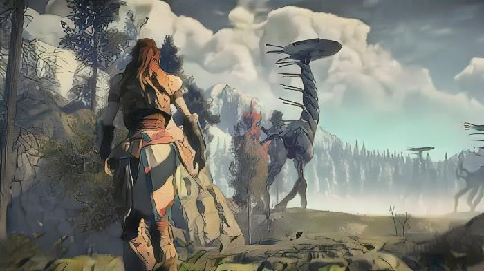 Cyberpunk 2077, God ofWar, The Witcher 3 идругие ваниме-стилистике— благодаря нейросети