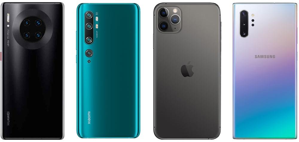 Опубликован список лучших камерофонов 2019 года
