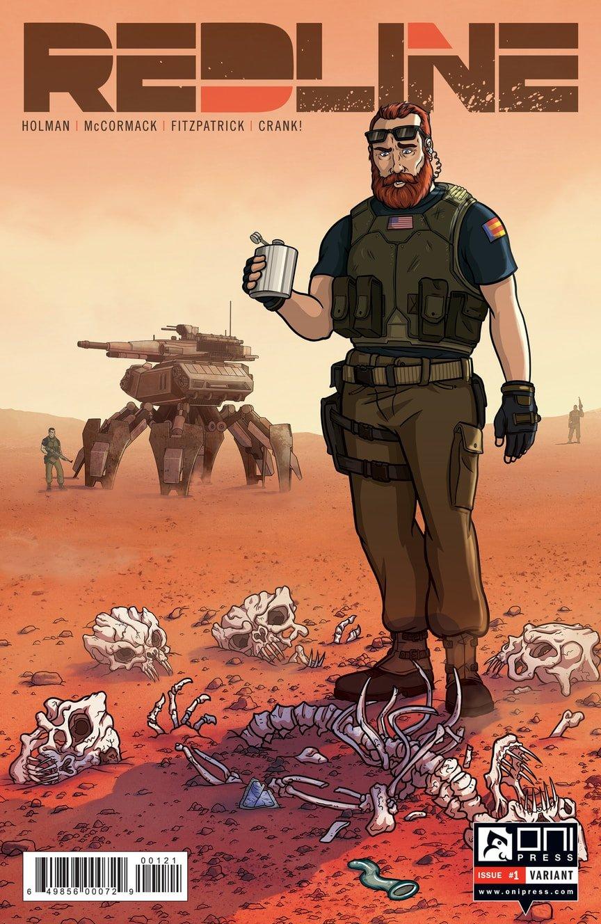 Соавтор «Арчера» напишет сатирический комикс про морпехов на Марсе | Канобу - Изображение 9487