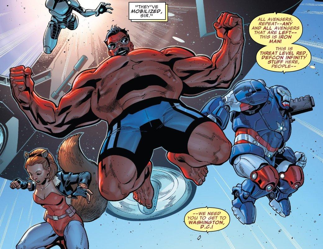 Secret Empire: Гидра сломала супергероев, и теперь они готовы убивать   Канобу - Изображение 21