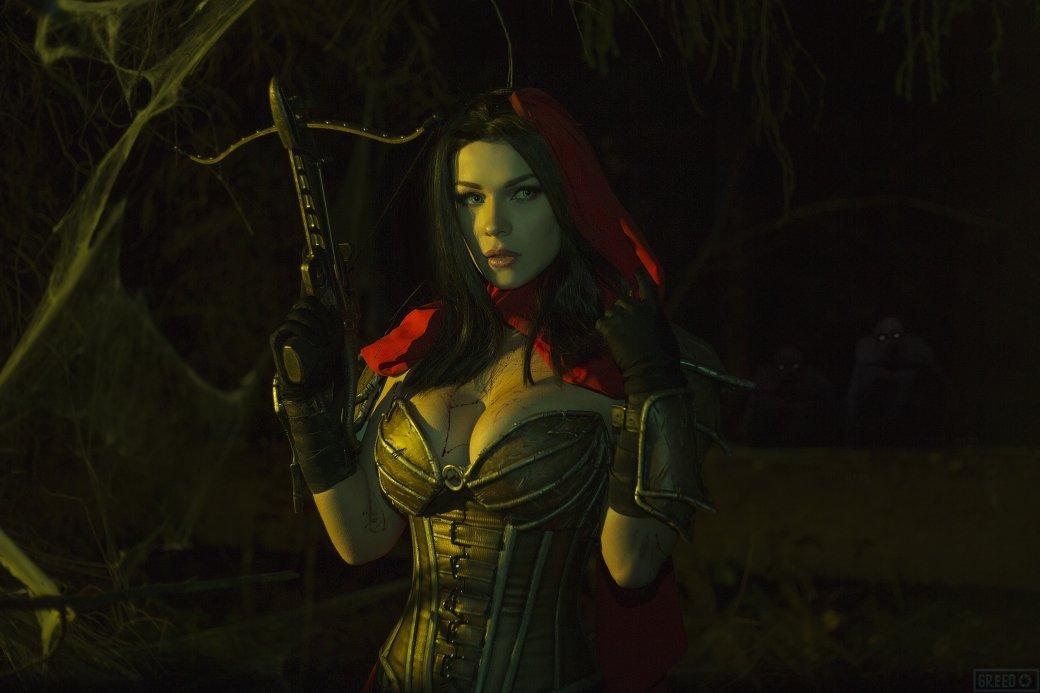 Горячий косплей Охотницы на демонов из Diablo III   Канобу - Изображение 1