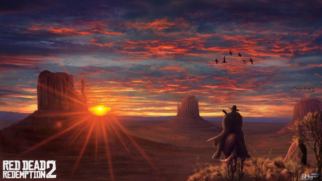 Гифка дня: секрет космических полетов вRed Dead Redemption2 | Канобу - Изображение 1