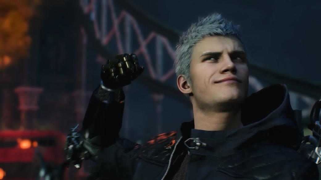 Вот вам иинтрига! Слитый ролик Devil May Cry 5 раскрывает внешность загадочного третьего героя. - Изображение 1