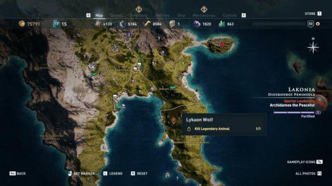 Гайд поAssassin's Creed: Odyssey. Где найти икак убить всех легендарных животных | Канобу - Изображение 5