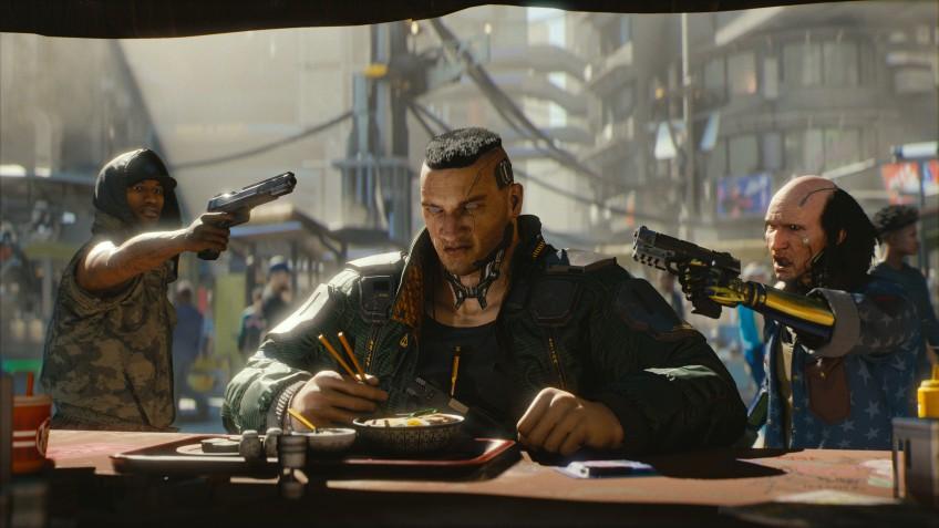 Расстрелять! Создатели Cyberpunk 2077 показали, как они делали пулевые отверстия на стенде с E3 2019   Канобу - Изображение 2081