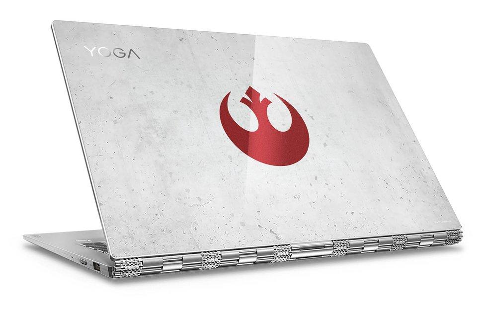 Приколы по Звездным Войнам: Lenovo представила ноутбук-трансформер Yoga 920 в стиле Star Wars