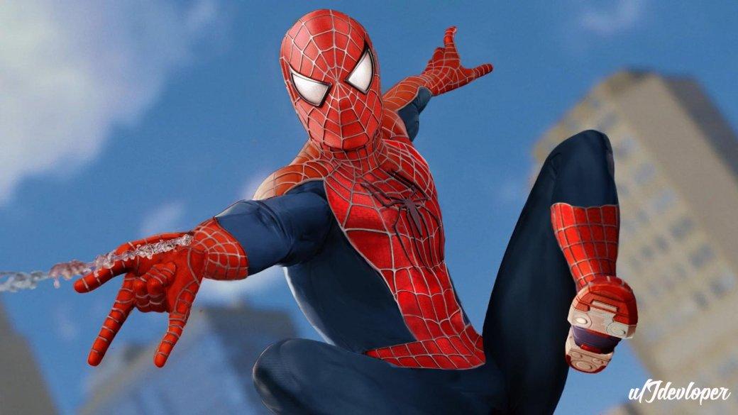 «Ялюблю тебя, костюм Рэйми»: игроки ввосторге отнового облика Человека-паука изSpider-Man наPS4 | Канобу - Изображение 0