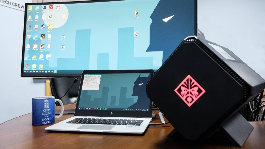 Обзор Omen Accelerator, внешний GPU, который превращает ноутбук в игровой ПК | Канобу