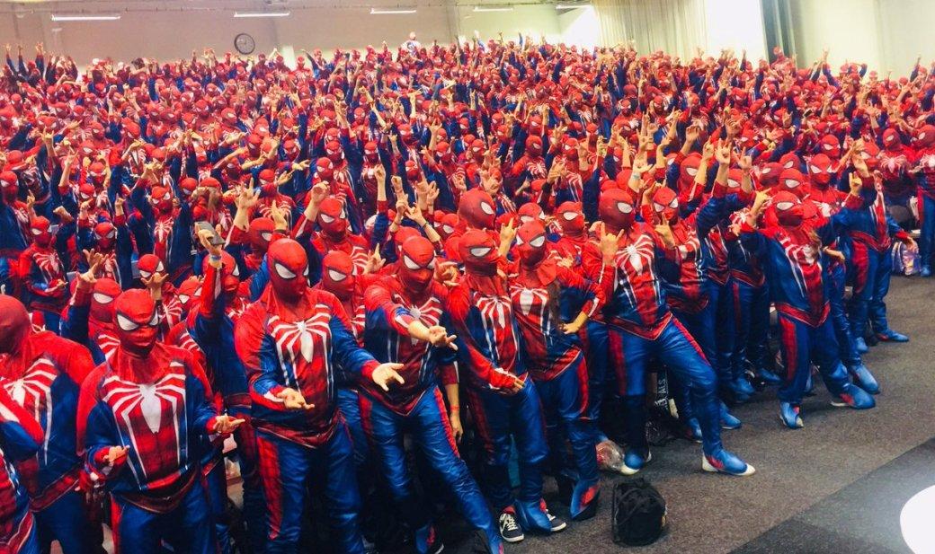 Ничего необычного, просто 547 Людей-пауков установили рекорд Гиннесса   Канобу - Изображение 733