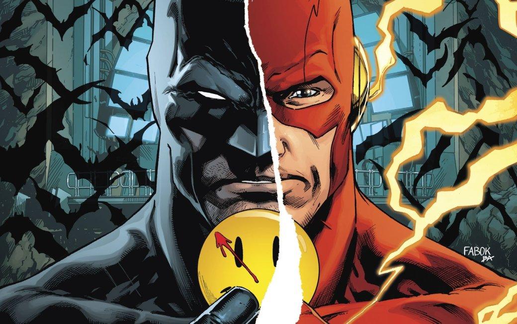 Куда привела Бэтмена и Флэша загадка значка Комедианта?. - Изображение 1