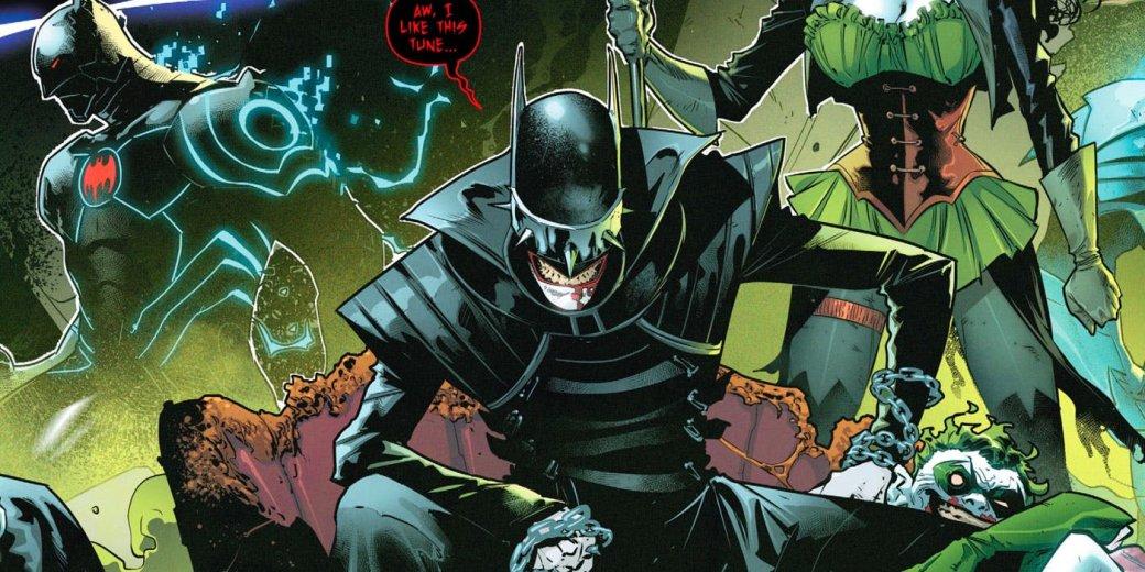 Злой Бэтмен-Джокер изТемной Мультивселенной получил свой комикс! | Канобу - Изображение 1