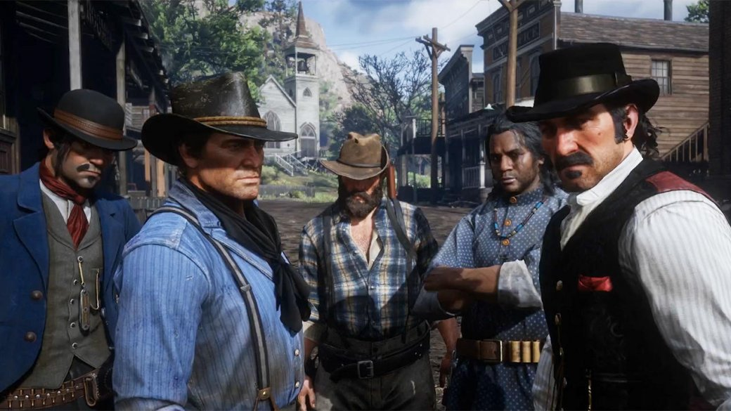 Разбор третьего трейлера Red Dead Redemption2. Все, что вымогли пропустить | Канобу - Изображение 2100