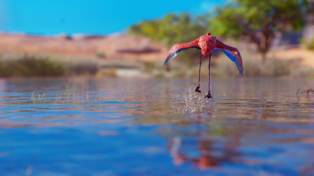 Гифка дня: фламинго-телохранитель вAssassin's Creed: Origins. - Изображение 1