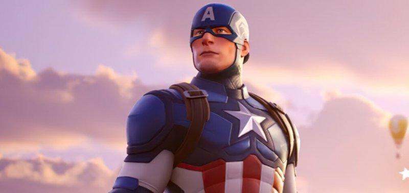 Капитан Америка прибыл в Fortnite