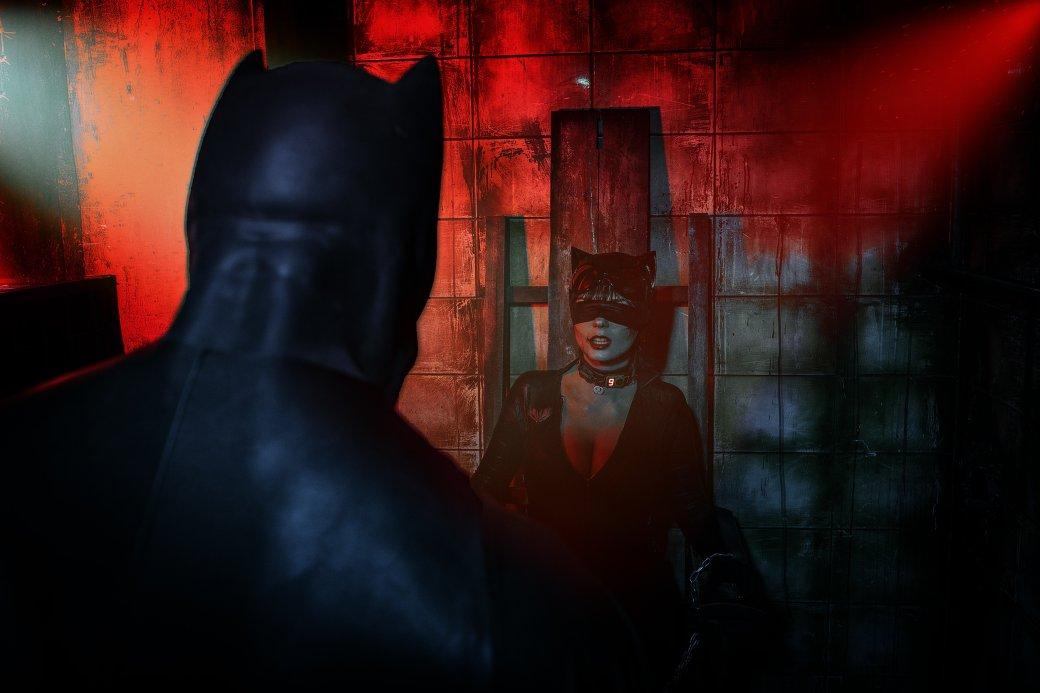 Бэтмен спасает Женщину-кошку из плена Загадочника в новом косплее | Канобу - Изображение 7648