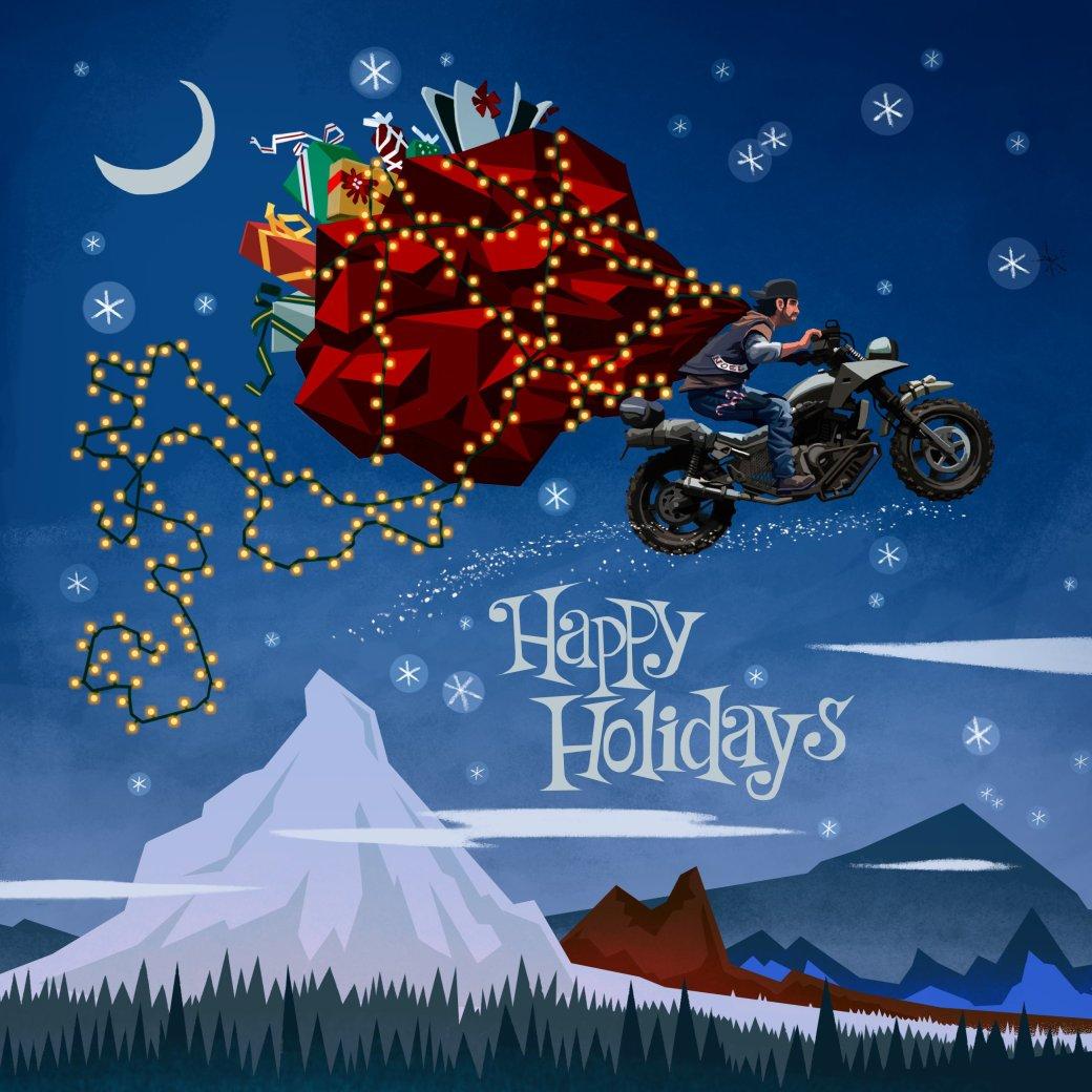 Издатели иразработчики поздравляют игроков сНовым годом иРождеством. Подборка открыток | Канобу - Изображение 6929