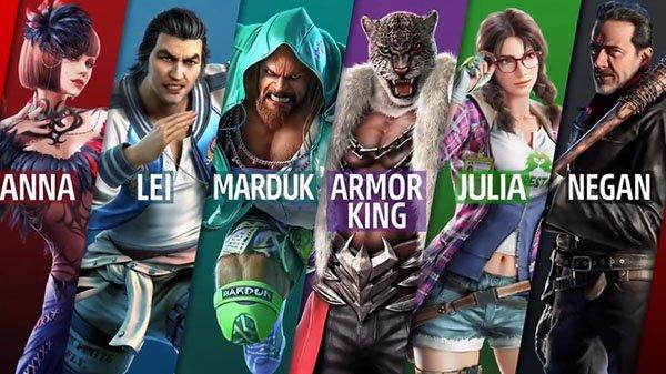 Посмотрите наНигана идругих персонажей второго сезона Tekken7   Канобу - Изображение 11654