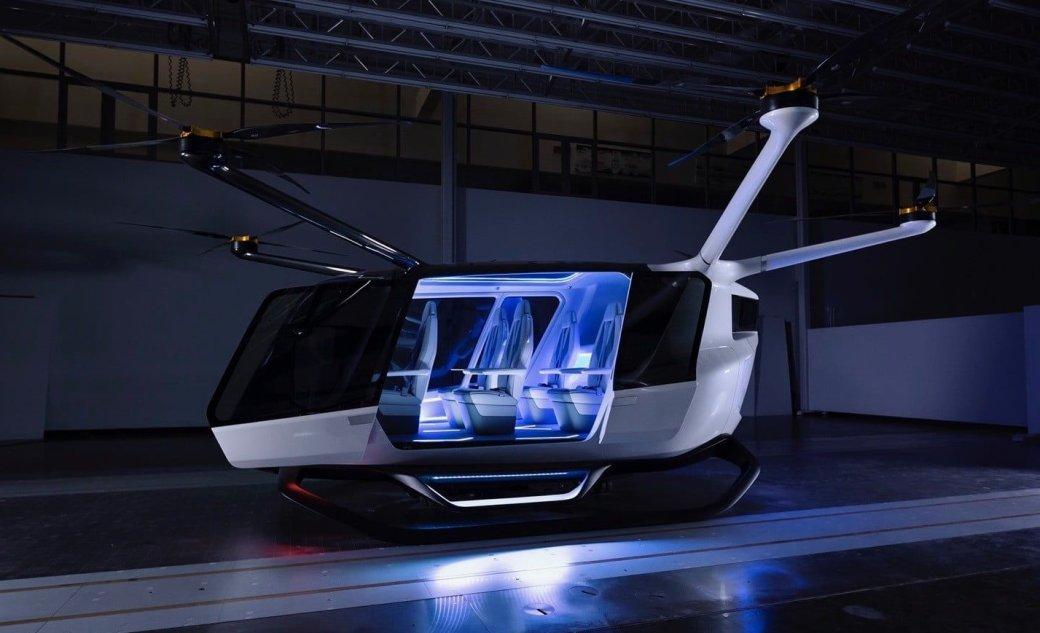 Skai— футуристичное летающее такси наводородном топливе | Канобу - Изображение 3420