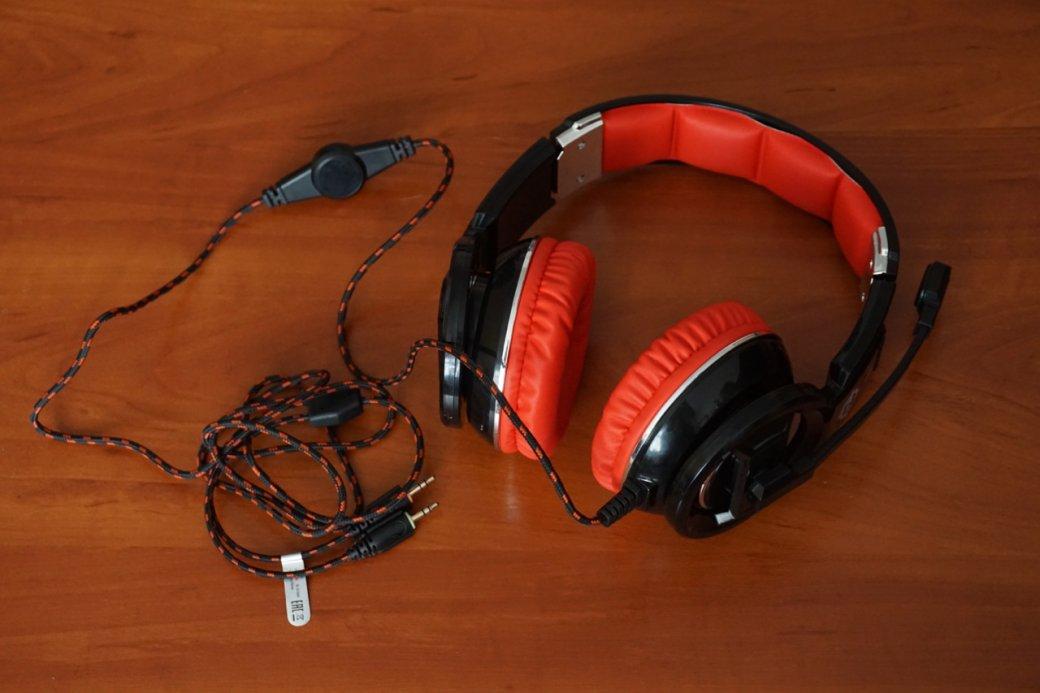 Обзор игровой гарнитуры Oklick HS-L350G— очень дешевая и износостойкая. - Изображение 2