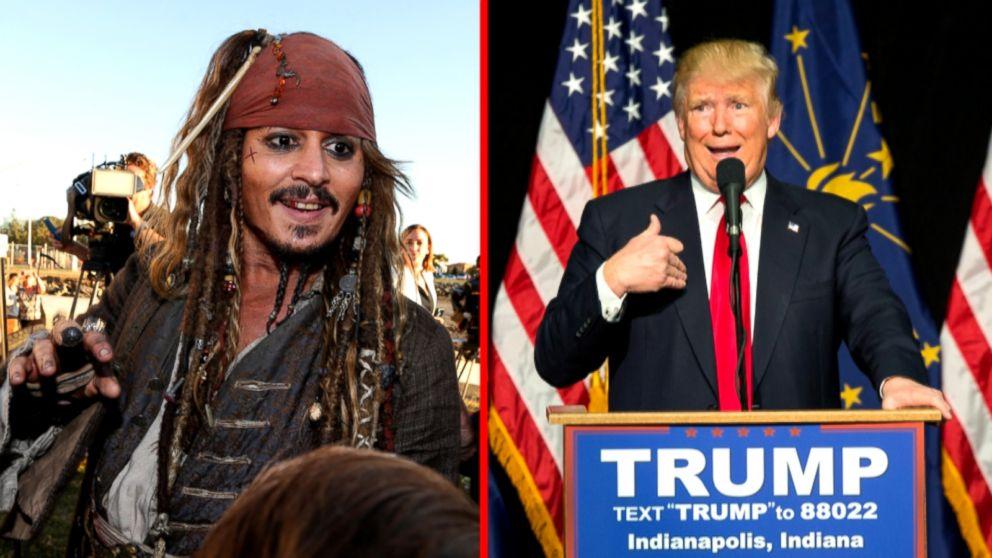 Тест: Джек Воробей или Трамп? Отличи пирата отпрезидента США | Канобу