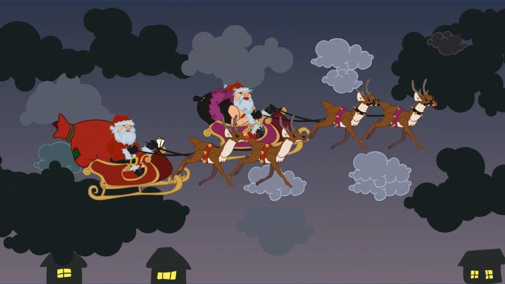 Santa Fukcus: безумная игра про деда-трансвестита сводкой имедведями | Канобу - Изображение 1280