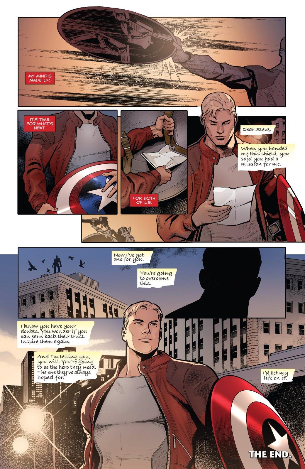 Marvel Generations: отправившись впрошлое, Сэм Уилсон прожил там целую жизнь | Канобу - Изображение 5752