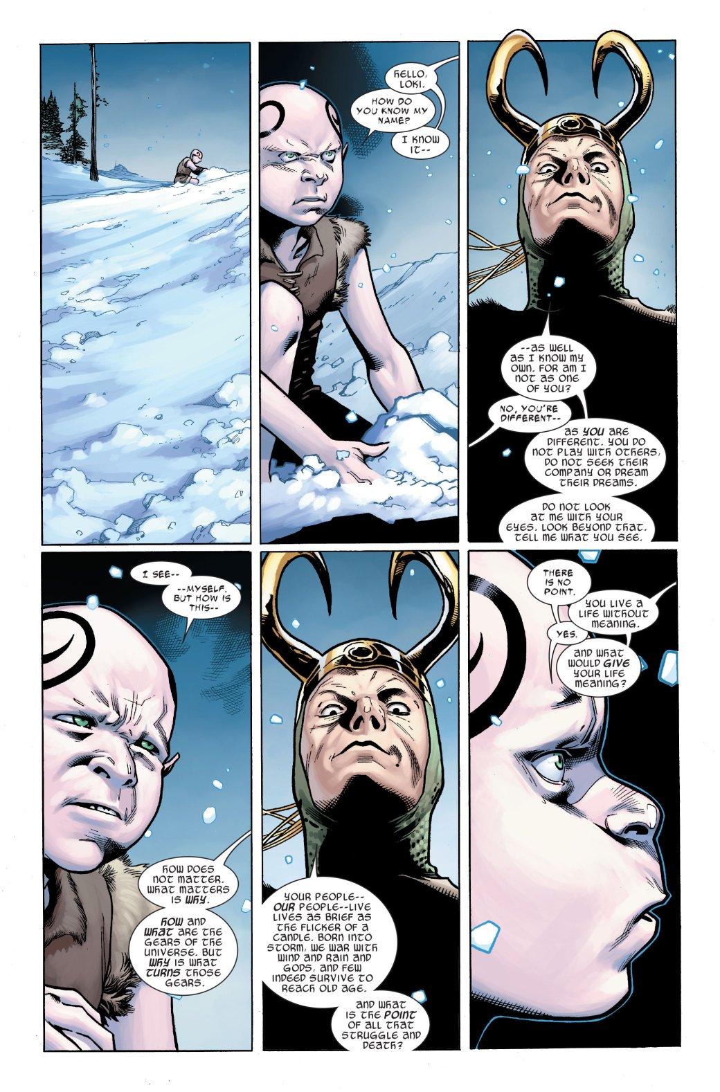 Эволюция Локи вкомиксах Marvel— бог обмана, король, Мститель, кандидат впрезиденты США | Канобу - Изображение 7009