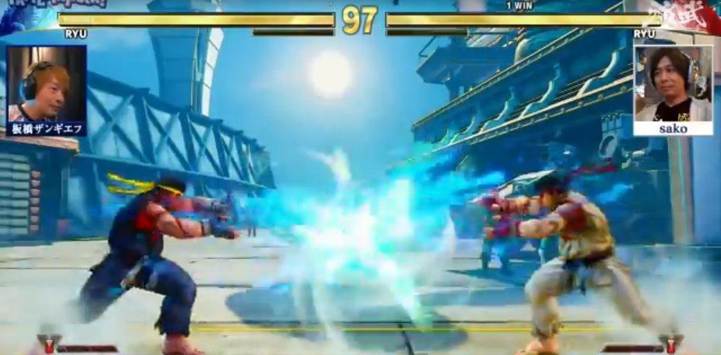 Натурнире поStreet Fighter V игроки 15 секунд немогли нанести урон, используя одинаковые приемы | Канобу - Изображение 515