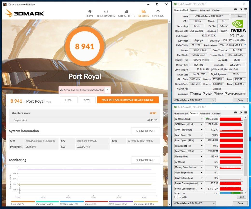 Тестируем видеокарту GeForce RTX 2080 Ti AORUS Xtreme и материнскую плату GIGABYTE Z390 AORUS Xtreme | Канобу - Изображение 40
