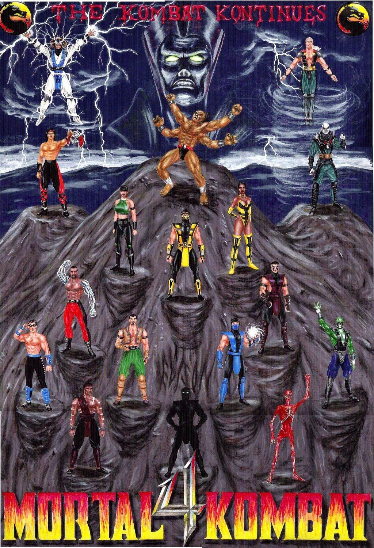 25 лет Mortal Kombat. Вспоминаем, что творилось всерии между MK3 иMK9. - Изображение 4